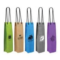 Best Personalized Full Color Wine Gift Bags Non-Woven Silk Screen Printing wholesale