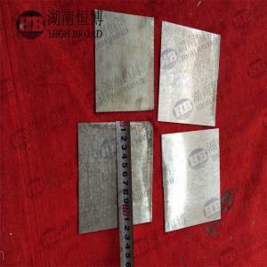 Best Air Battery Thin Metal Sheet Plate AZ31 AZ61 AZ91 High Capacity Magnesium wholesale