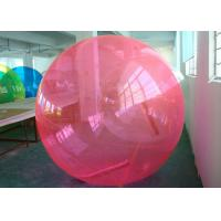 Best 1.0mm Thickness Inflatable Bubble Ball Text Printing With German T - ZIP Zipper wholesale