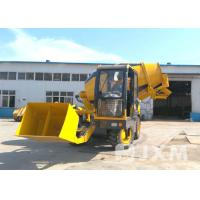 China Compact  Self Loading Mobile Concrete Mixer 3.5 Cubic Meters Mobile Cement Mixer Trucks on sale