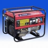 China 3-phase Gasoline Generator with 389mL Displacement, 4-stroke Forced, Air-Cooled Engine on sale