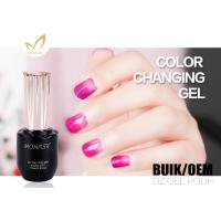 Best Natural Mood Changing Uv Gel Color Changing Gel Nail Polish For Nail Art wholesale