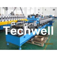 Best 21KW 45# Steel Sigma Profile Roll Forming Machine With 16 Steps Forming Station wholesale