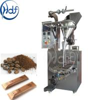 Best 220v Automatic Coffee Packing Machine / Salt Packing Machine 25-145mm Film Width wholesale
