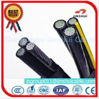 Best 3 * 70 + 70 Sq Mm Aluminum Overhead Power Cables Quaduplex Wire Eco - Friendly wholesale