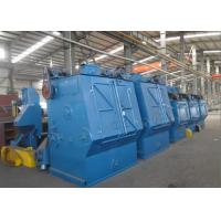 Fully Automated Crawler Belt Shot Blasting Equipment For Cleaning Parts