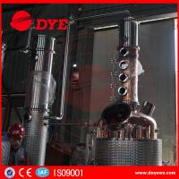 Best 500gal Commercial Distilling Equipment Brandy Gin Vodka Alcohol Copper Whiskey Still wholesale