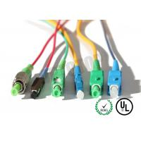 Best MM OM4 Simplex Fiber Optic Patch Cord 2mm With SC-APC Connector , ROHS Standard wholesale