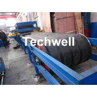 Best PU Insulated Sandwich Panel Forming Machine With Double Belt Drive Type , Cooling System wholesale
