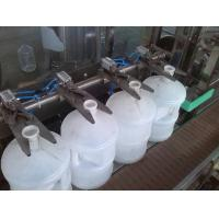 Cheap Beverage / Mineral Water PLC Based Automatic Bottle Filling System 10000-12000BPH for sale