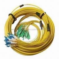 Best Fiber-optic Jumper with 24 Cores, Low Insertion Loss, LC and SC Connector Types wholesale