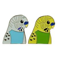 China Colorful Bird Lapel Enamel Pins , Soft Enamel Lapel Pins Badges With Gold Plating on sale