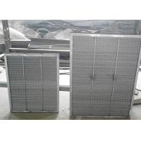 Best Aluminum Range Hood Filter Frame Demister  Dry Suction Tower Wire Demister Pad Cell wholesale