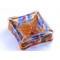 Best Living Rooms Dressing Table Home Decorations Crafts High Grade Colored Glaze Ashtray wholesale