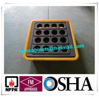 Best IBC Chemical Spill Containment Trays , 4 IBC Tank Safety Storage Spill Deck And Spill Pallet wholesale