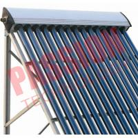 Cheap 20 Tubes Heat Pipe Solar Collector For Split Tank OEM / ODM Available for sale