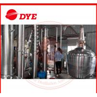 Best Manual Still For Alcohol Making , Brandy Distillation Equipment wholesale