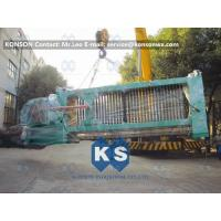 China Automatic Gabion Production Line , Durable Gabion Net Welded Wire Mesh Machine on sale
