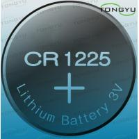 China Li-MnO2 3 Volt CR1225 Lithium Coin Cell Battery For Calculator , Switch Board on sale