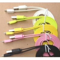 Best Noodle Flat Tab SAMSUNG USB Charger Cable Micro Data Usb Sync And Charging Cable wholesale