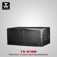 Best Touring Sound System High Quality Low Price Professional Subwoofer For Church Wedding Loudspeaker  TX-218B wholesale