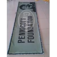 Cheap Double Sided Vinyl Mesh Banner Outside With Copper Grommets Uv Resistant for sale