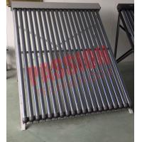 Buy cheap No Noise Heat Pipe Solar Collector 45 Degree Angle Frame For Hospital from wholesalers