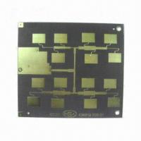 Best High Frequency Double-sided PCB with Minimum Width of 0.12mm, Made of Teflon wholesale