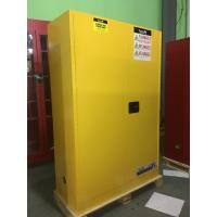 Best Durable Metal Flammable Liquid Storage Containers 45 GAL With Double Layer wholesale