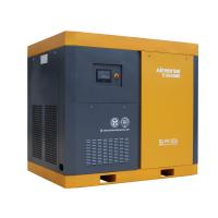 Best Two stage air end screw air compressor with two IPM motors in China gold supplier wholesale