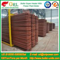 Best Power Rate Plant 300 MW Anti Shock Petrochemical Industry Superheater In Boiler wholesale
