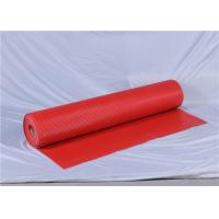 Buy cheap Item AT5015 antistatic red PVC car mat 1~5mm thickness Vinyl Flooring mat from wholesalers