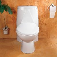 Best bathroom one-piece S-trap toilet wholesale
