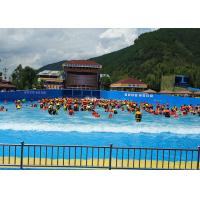 Best Outside Holiday Resort Surfable Wave Pool Artificial Tsunami For Kids / Adults wholesale