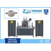 Best Hwashi CCC/ CE Qualified Horizontal Type Stainless Steel Pot Ear Welding Machine with one year warranty wholesale