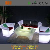 Single Seat LED Light Sofa , Change Colors Via Remote Control for Hotel Room and Hall