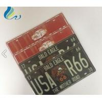 Best Outdoor Vintage Metal Signs Letter Theme Aluminum Anodized Sign With Edgefold wholesale