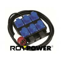 Best 3680 W CEE Sockets Portable Power Distribution Box 3 Phase for theatre lighting wholesale