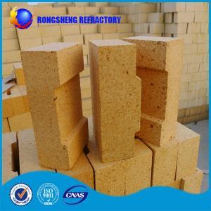 Best Al2O3 38- 42% Fireplace Refractory Brick High Density For Blast Furnace Glass Kiln wholesale