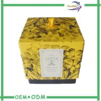 Best Commercial Packaging Decorative Candle Packaging Boxes With Ribbon wholesale