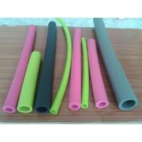 Best Small Diameter Silicone Coloured Foam Tubes Non Toxic For Water And Fluid Lines wholesale