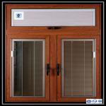 Quality Aluminium Sliding Window Aluminium Window Extrusions With Mosquito Screen / Vertical Aluminum Louvers wholesale