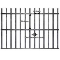 Best UV Resistant Anti Climb Fence Panels / Welded Wire Fence Panels 4mm Diameter wholesale