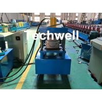 Best Custom Made Half Round Gutter Cold Roll Forming Machine For 15 Stations Forming Stage wholesale