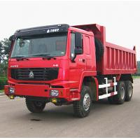 China 251 - 350HP Sinotruk Howo 6x6 Tipper Truck Heavy Dumper Truck on sale