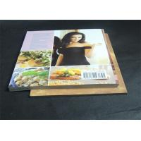 Best Gloss Lamination Customized Cookbook printing , hardcover photo book printing wholesale