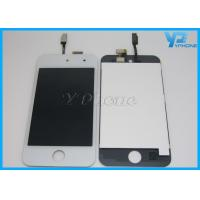 Best White 4th Ipod LCD Digitizer Replacement With Touch / Capacitive wholesale
