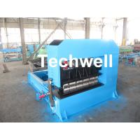 Best 0-10M / Min Cold Roll Forming Equipment , Roof Sheet Making Machine 500mm Curving Radius wholesale