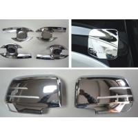 Best ISUZU D-MAX Body Decoration Parts Chromed Handle Inserts and Side Mirror Covers wholesale