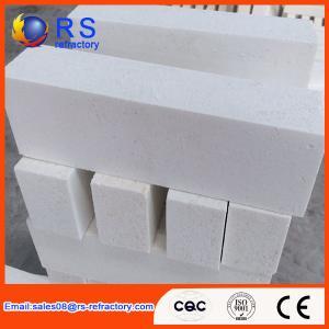 Best High Purity Corundum Brick , Lower Porosity White Fire Insulation Bricks wholesale